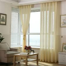 White Curtains For Living Room Linen Curtains Customized Multicolor Thicken Window Treatments