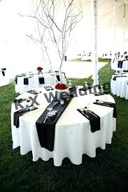target table runners round table runner black color satin table runner for wedding table cloth