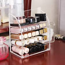 Table Top Product Display Stands Lipstick storage box display stand transparent acrylic table top 66