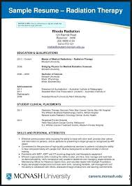 radiation therapist resume physical therapy resume objective samples radiation  therapist resume examples
