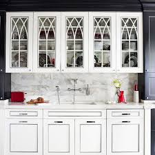 Kitchen Cabinets With Doors Distinctive Kitchen Cabinets With Glass Front Doors Traditional Home