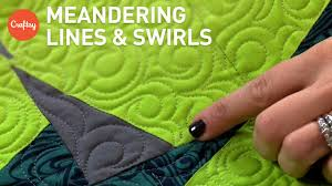 Meandering Quilting Lines & Swirls for Backgrounds & Borders | FMQ ... & Meandering Quilting Lines & Swirls for Backgrounds & Borders | FMQ Tutorial  with Angela Walters Adamdwight.com