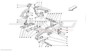 Ferrari mondial t front suspension wishbones parts at atd front suspension on 2003 grand prix ferrari