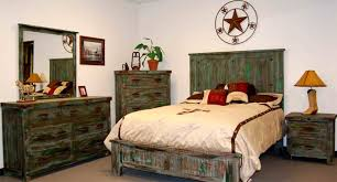 mexican rustic pine bed