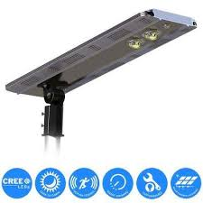 solar power smart led street light for commercial and residential parking lots bike paths