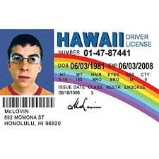 Fun License Driver's Mclovin Signs com Id Home License's Amazon Kitchen amp; Nmlid 4