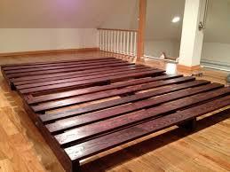 reclaimed wood king platform bed. Bed Frames Supple Medium Size Bedding Minimalist Reclaimedwood King Platform Frame Low Profile Reclaimed Wood And