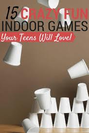 Fun inside games for teens