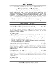 Medical Technology Example Nuclear Medicine Technologist Resume For Medical Laboratory
