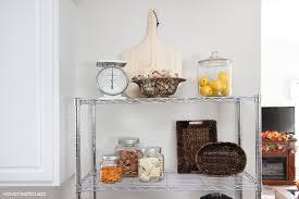 kitchen wire shelving unit