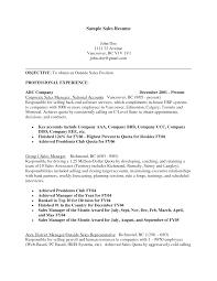 Amazing Resume Creator Outside Sales Representative Resume