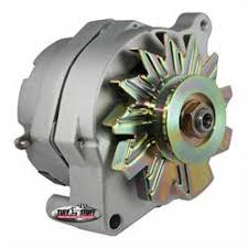 ford mount one wire alternator chrome shipping speedway tuff stuff 7068k smooth back 1 wire ford alternator 140 amp