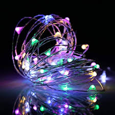 <b>10M Waterproof</b> 100LED Starry Fairy String <b>RGB</b> Light For Xmas ...