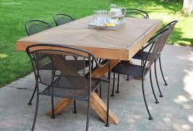 DIY X-Base Herringbone Table - Free Plans - Rogue Engineer