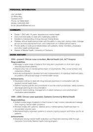 Health Nurse Cover Letter Resume For Musician