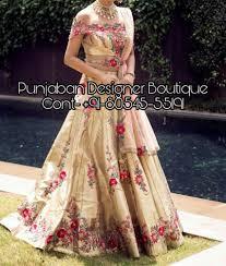 Bridal Lehenga Choli Designs With Price Lehenga Designs And Price Punjaban Designer Boutique