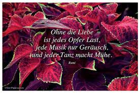 Ohne Die Liebe Ist Jedes Opfer Last Jede Musik Nur Geräusch Und