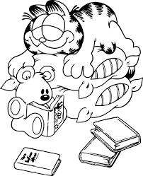 25 Vinden Kleurplaat Garfield Mandala Kleurplaat Voor Kinderen