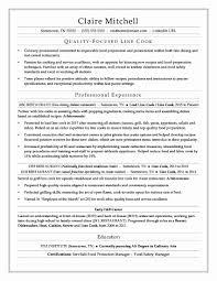 Servsafe Certificate Template Lovely Line Cook Job Description