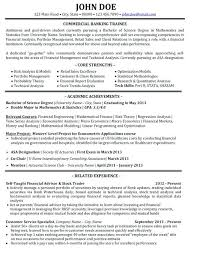 Sample Banker Resume Best Of Banking Resume Examples Banker Resume Example Sample Investment
