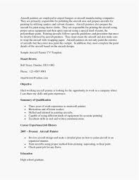 House Painter Resume Industrial Painter Resume Preferred Best Format House