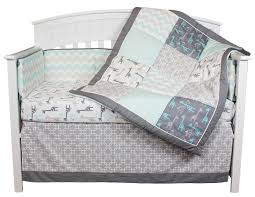 bedding sets the peanut shell image uptown giraffe 5 piece baby bedding set with per