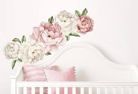 1m vintage peonies on vinyl wall art stickers durban with kids vinyls archives twiggy