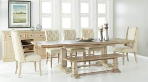 Hudson Extension Dining Table Stone Wash Setting 1