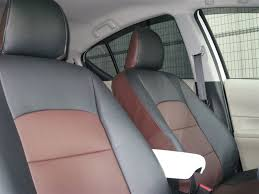 photo5 toyota prius c aqua genuine rhd like leather seat covers nhp10 jdm 2016