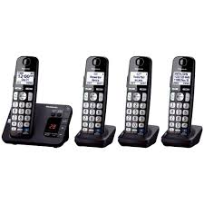 4 handset expandable digital cordless answering system