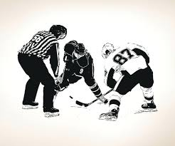 hockey wall decal vinyl wall decal sticker hockey puck drop wall decals