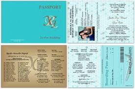 Passport 34 Boarding Pass Response Included - Custom Passport ...