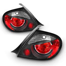 Dodge Neon Brake Light Amazon Com For 03 05 Dodge Neon Jdm Black Housing Tail