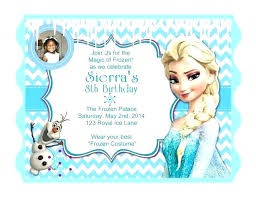 make your own frozen invitations frozen birthday invitation ideas birthday invites captivating
