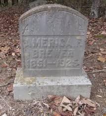 America F. Buford Brewer (1851-1925) - Find A Grave Memorial