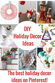 The best DIY Holiday Decor Ideas! Not only are these Holiday decorations  super cute,