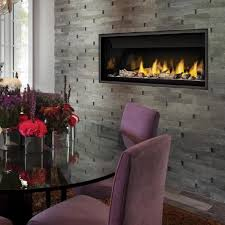 napoleon fireplaces ascent linear 46 direct vent natural gas fireplace
