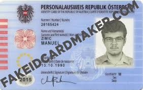 Austrian - Virtual Id Card Maker Fake