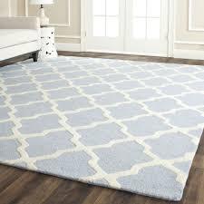 safavieh cambridge light blue ivory wool carpet area rug blue area rugs 8x10