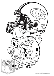 Green Bay Packers Coloring Pages Printable Enjoy Coloring Sports