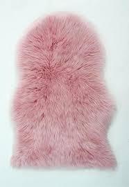 pink faux fur rug faux fur baby pink rug pale pink faux fur rug
