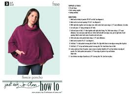 Poncho Sewing Pattern Impressive How ToSew A Poncho A Dozen Free Patterns And Instructions