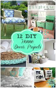 12 diy home decor projects