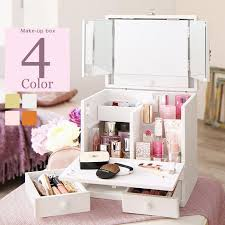 pleted s paragon with cosmetic box dresser carry princess series cute makeup units dresser make up box cosmetics box cute gadgets high type outlet