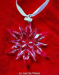 Annual Ornaments Swarovski Annual Snowflake Ornaments Swarovski Crystal Snowflakes