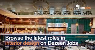 Interior Designer Jobs Melbourne Interior Design Roles Dezeen Jobs