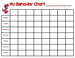 Dinosaur Customizable Behavior Chart