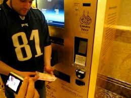 Gold Vending Machine Prices Awesome Buying Gold In A Vending Machine In Abu Dhabi At Emirates Palace