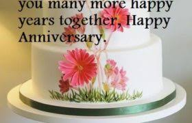 Marriage Anniversary Cake Wishes Sayings Pics Best Wishes