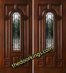 glass double door exterior. Entrance Double Doors Exterior Photo 7 Wooden Entry With Glass Door
